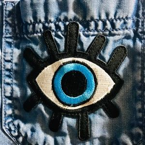 Evil Eye Denim Shirt